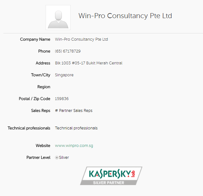 Kaspersky Silver Partner