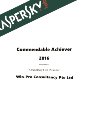 kaspersky commendable achiever win pro