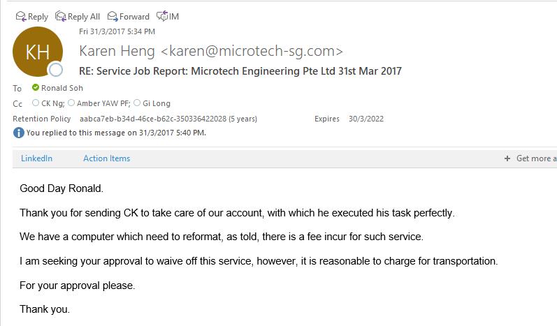 IT Services Testimonials