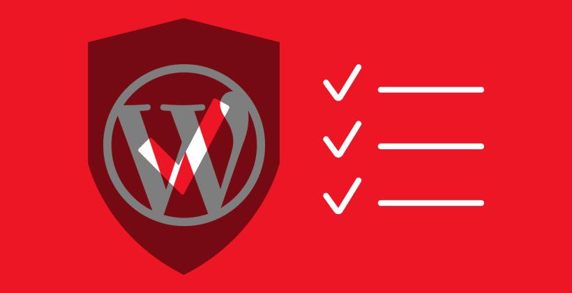 wordpress-security-checklist