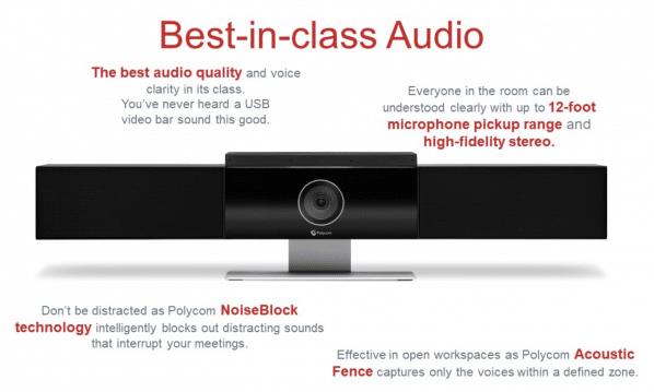 Polycom Studio - Best-in-Class Audio