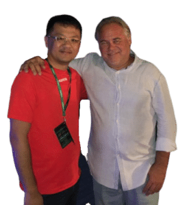 Ronald Soh and Eugene Kaspersky