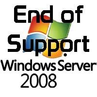 windows 2008 end of support